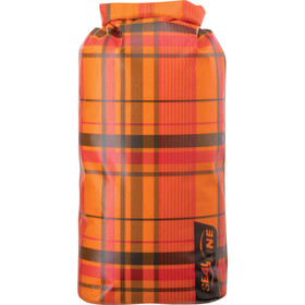 SealLine Discovery Dry Bag 30l, orange plaid